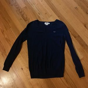 vineyard vine v neck sweater